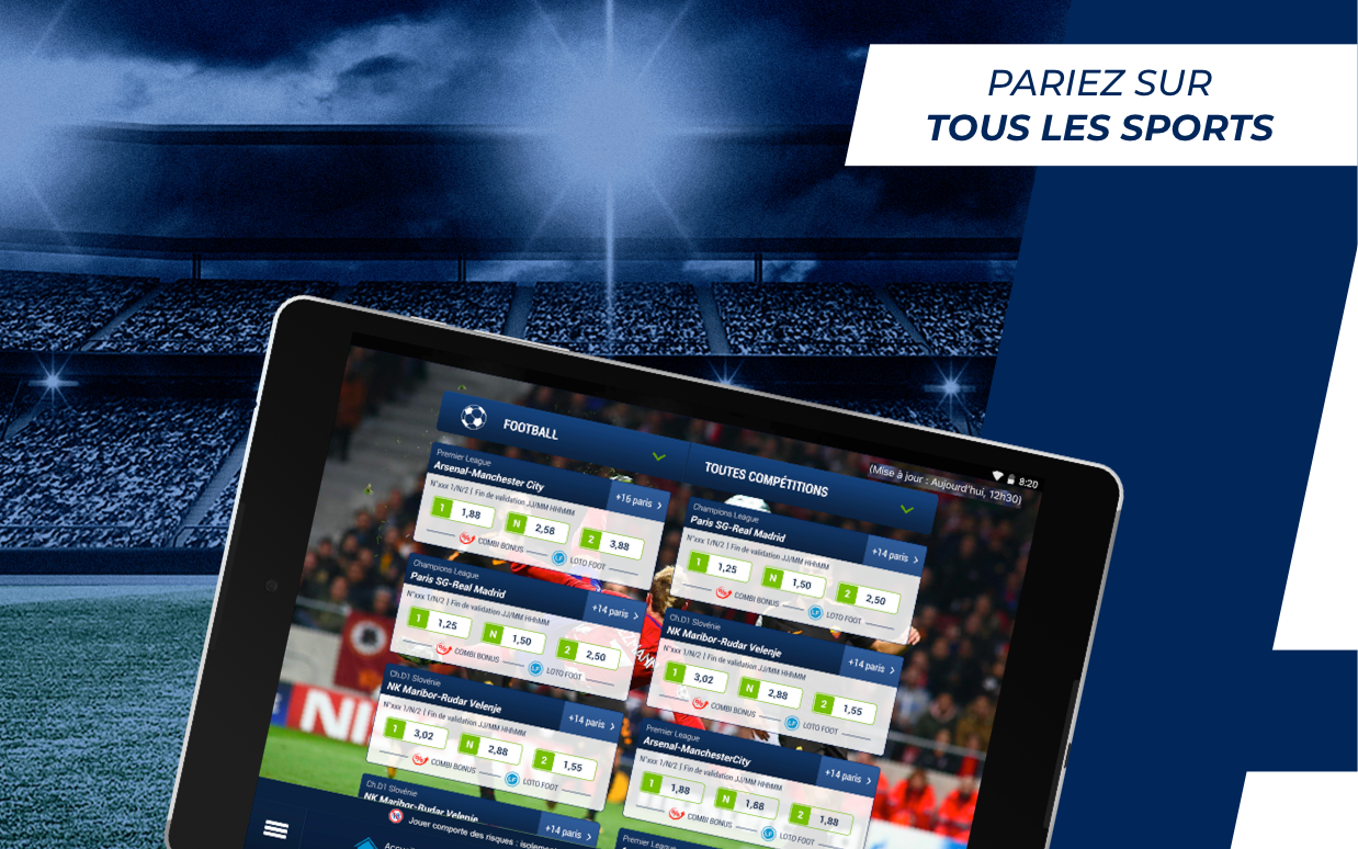 Android ParionsSport Point De Vente® Screen 5