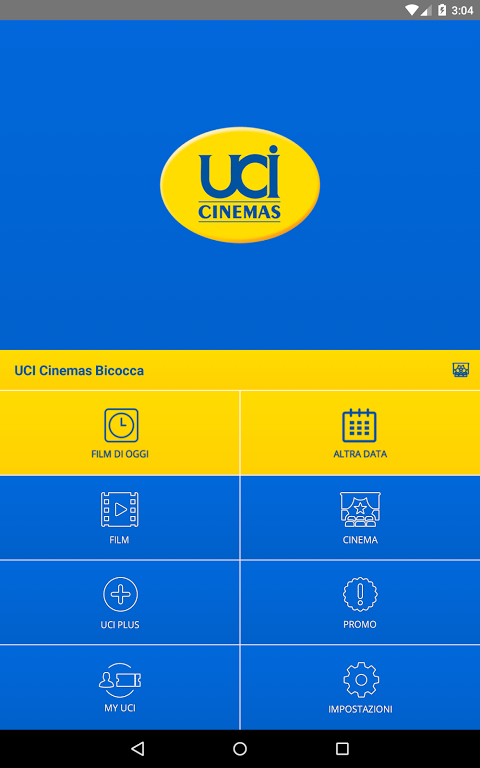 UCI CINEMAS ITALIA 3.1.6 Screen 10