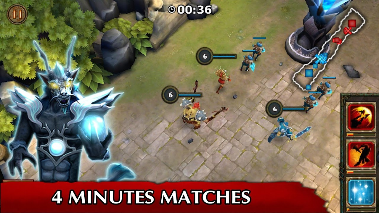 Legendary Heroes MOBA 3.0.52c Screen 3