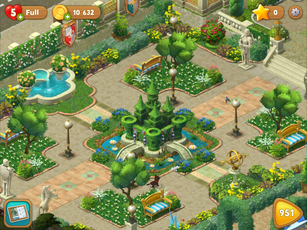 Android Gardenscapes Screen 4