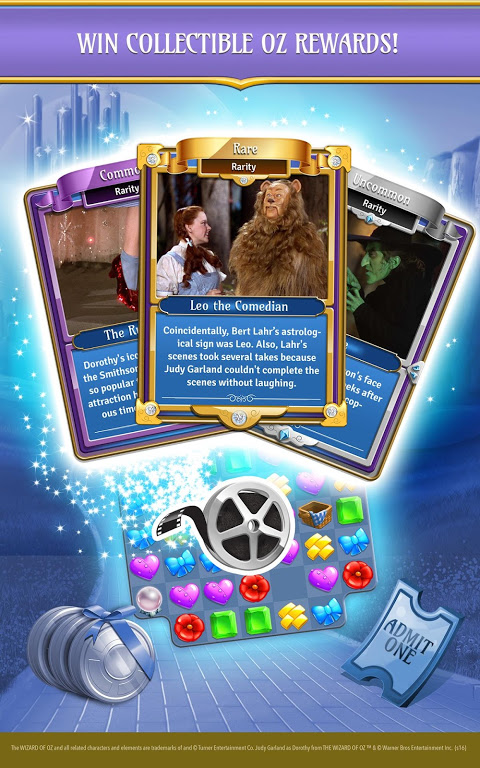 Android The Wizard of Oz Magic Match 3 Screen 7