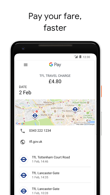 Android Android Pay Screen 9