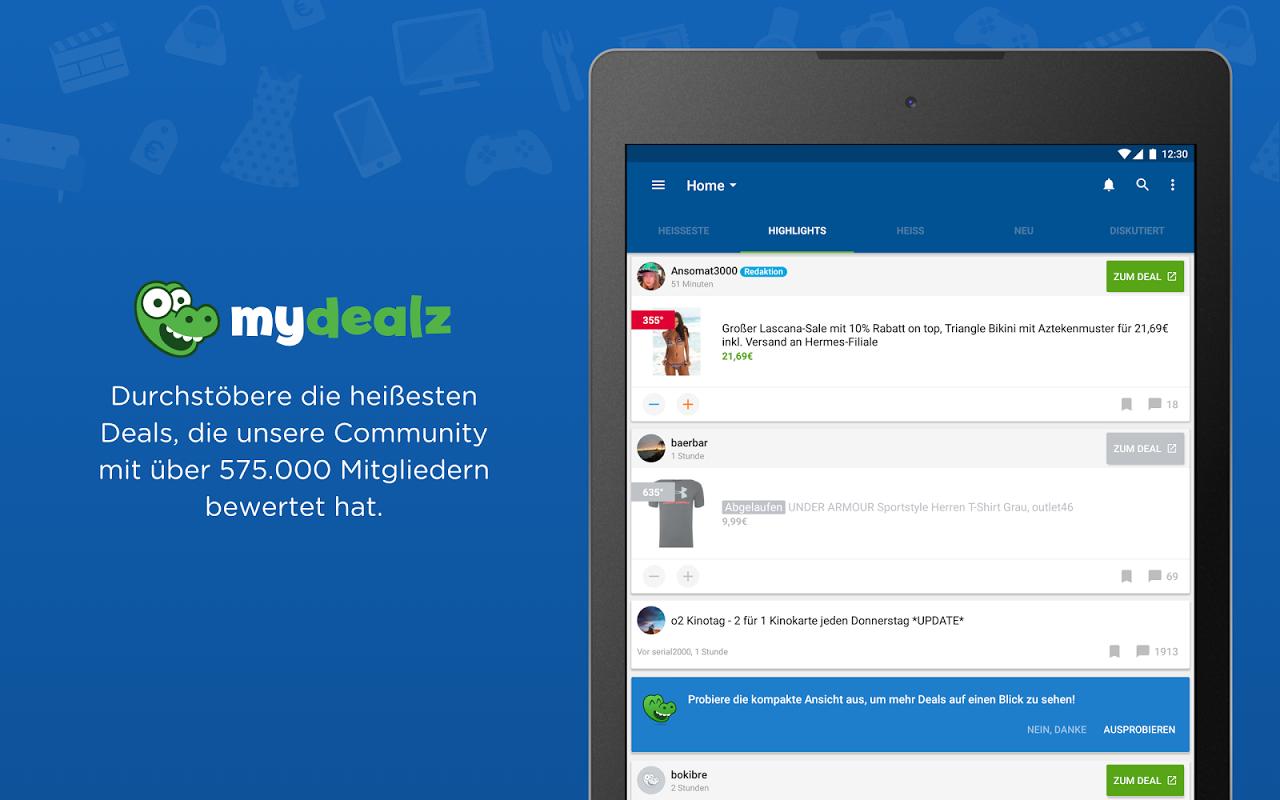 mydealz – Gutscheine & Deals 5.3.03 Screen 5