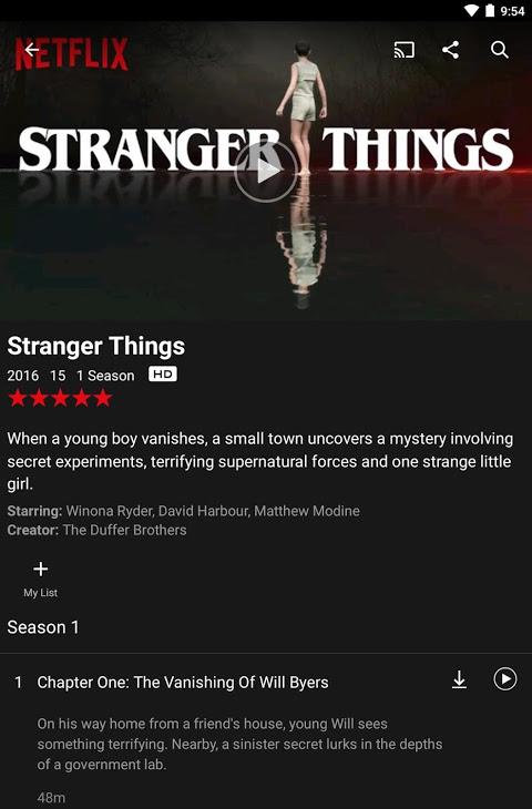 Netflix 4.16.1 build 200147 Screen 10