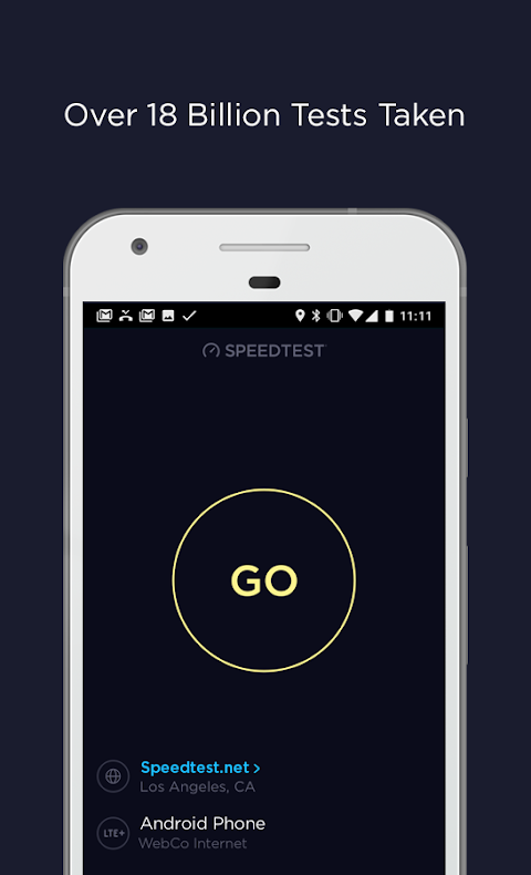 Android Speedtest by Ookla Screen 3