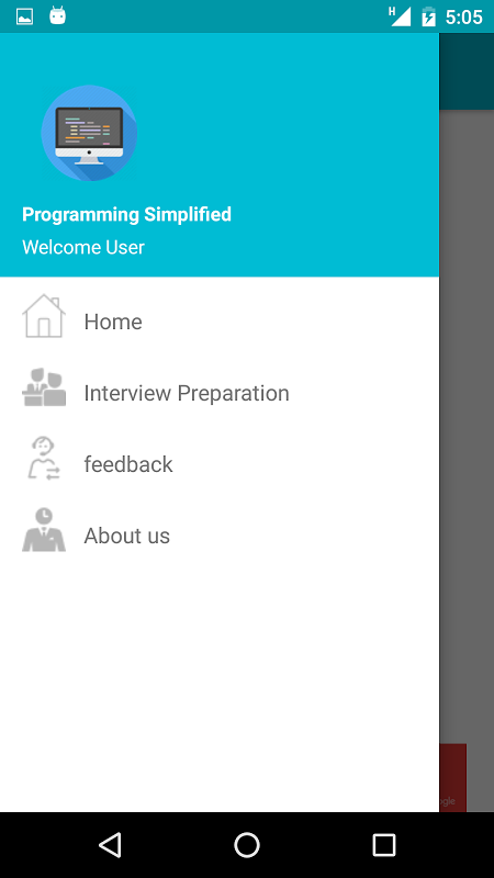 Android Programming Simplified Screen 4