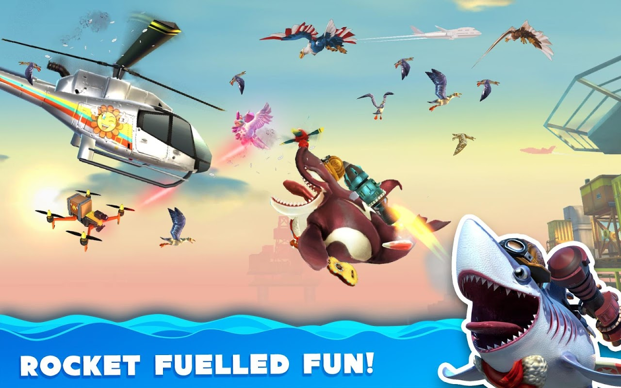 Android Hungry Shark World Screen 14