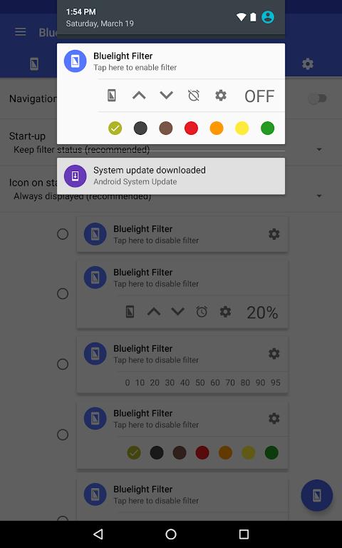 Bluelight Filter for Eye Care 2.9.24 Beta 3 Screen 9