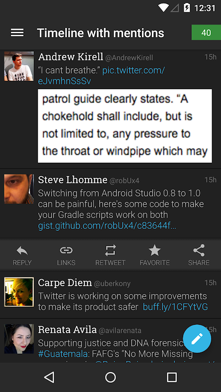 Plume for Twitter 6.29.0 Screen 5