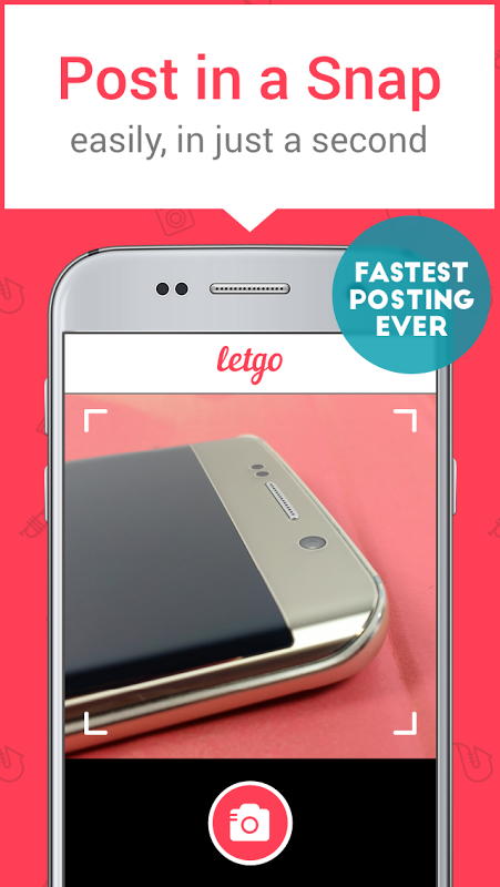 letgo 1.7.2 Screen 1