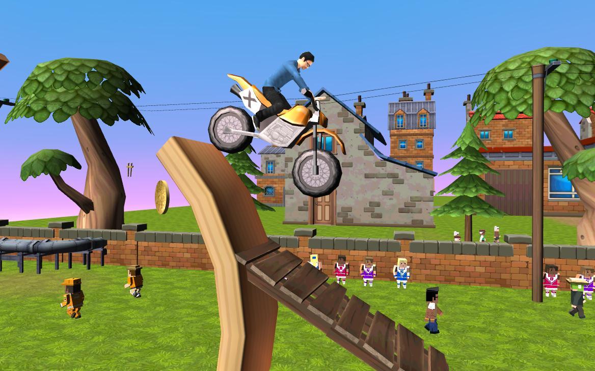 Dirt Bike - Cartoon Trial 1.7 Screen 2