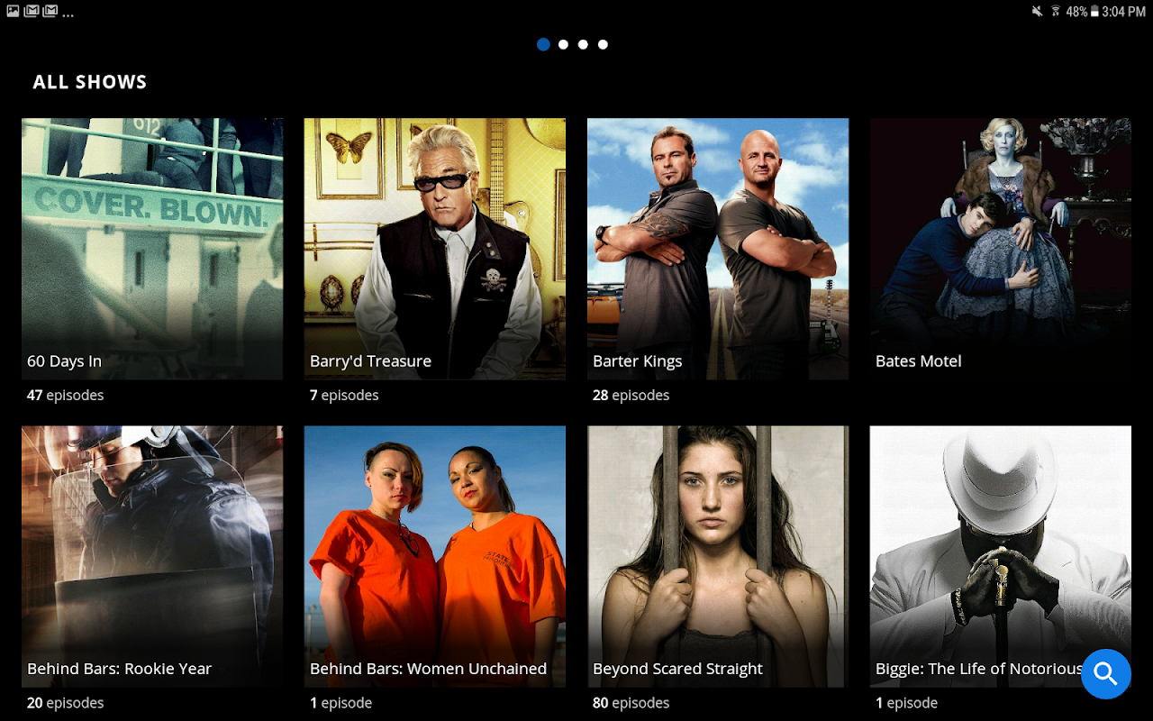 Android A&E - Watch Full Episodes of TV Shows Screen 6