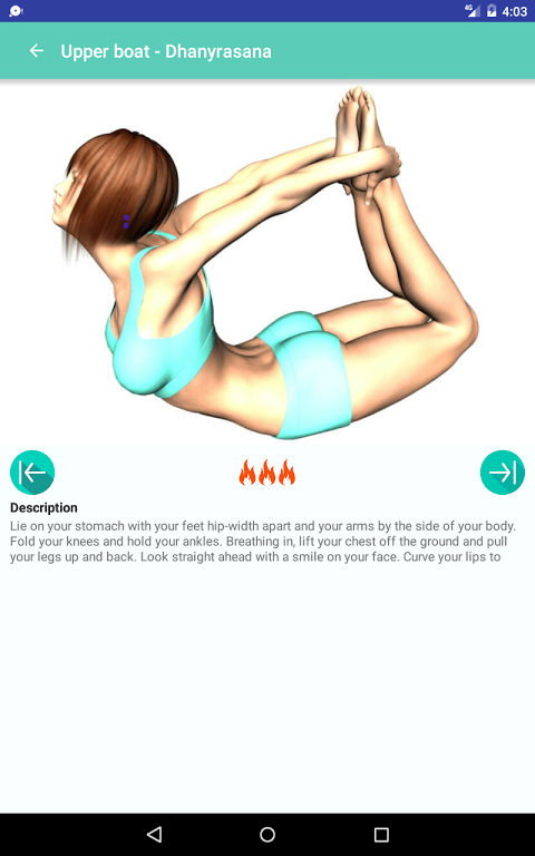 Android Yoga for super weight loss Screen 8