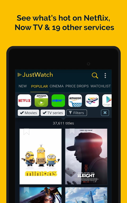JustWatch - Search Engine for Streaming and Cinema 0.24.58 Screen 19