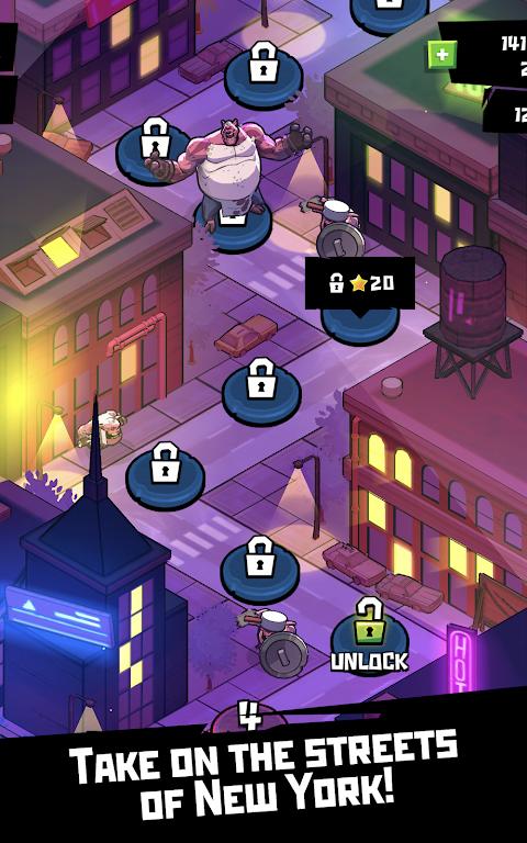 Android Rise of the TMNT: Ninja Run Screen 4