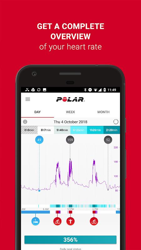 Polar Flow – Sync & Analyze 3.8.1 Screen 6