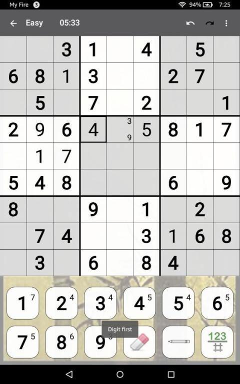 Sudoku 10.2.5.g Screen 14