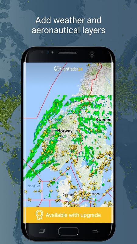 Android Flightradar24 Flight Tracker Screen 2