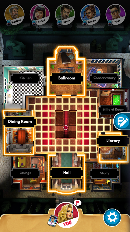 Android Cluedo Screen 5
