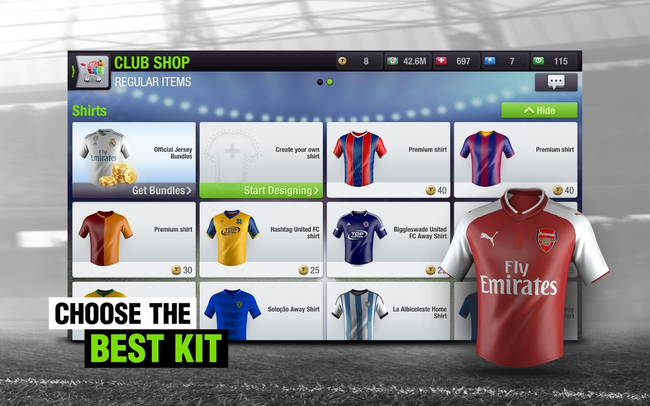Android Top Eleven 2018 - Be a Football Manager Screen 12
