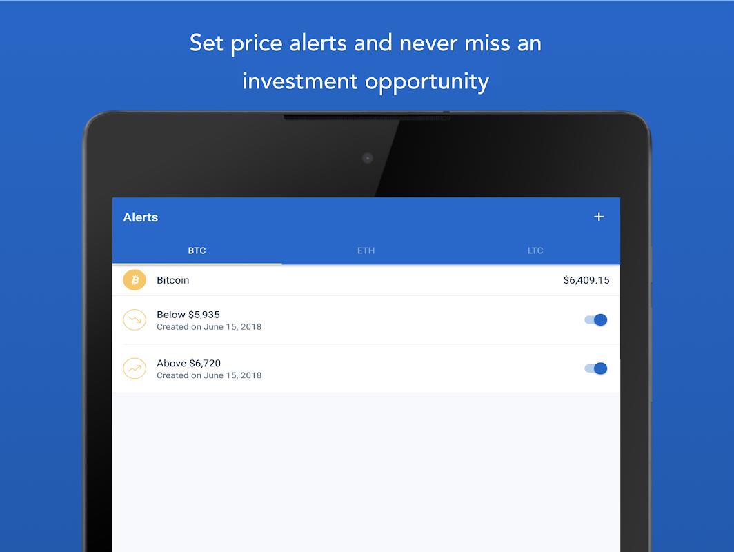 Android Bitcoin Wallet - Coinbase® Screen 9