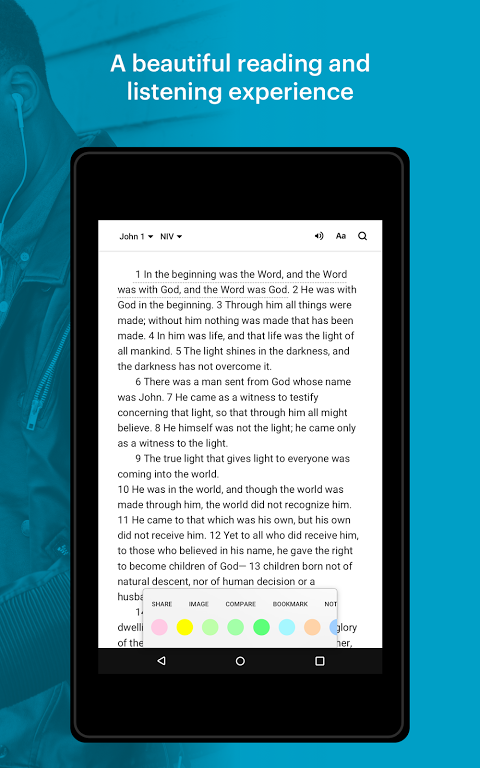 Android Bible: Daily Verse, Audio Bibles and Devotionals Screen 6