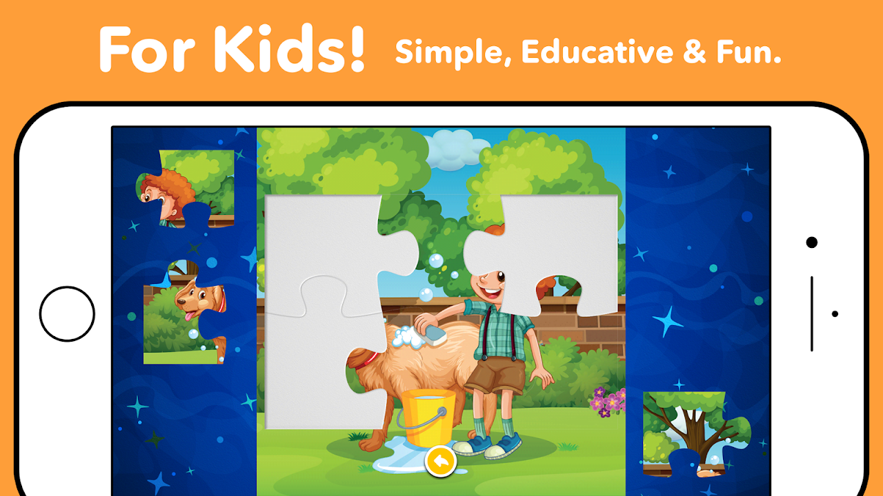 Android Kids Puzzles - Kids games 1, 2, 3, 4, 5 years old Screen 1