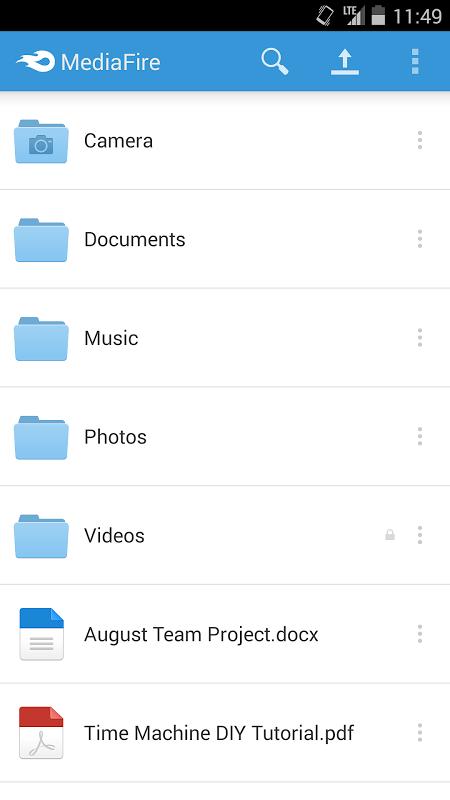 Android MediaFire Screen 12