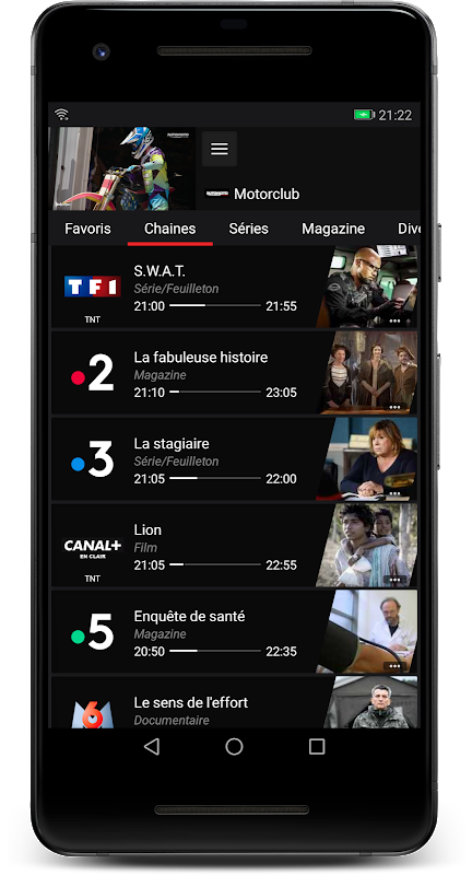 Android Box'n TV - Freebox Multiposte Screen 5