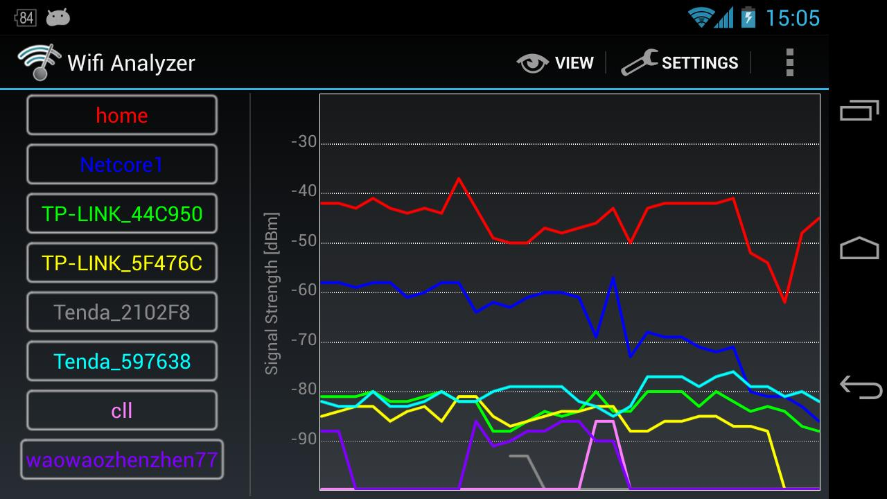 Wifi Analyzer 3.9.2 Screen 2
