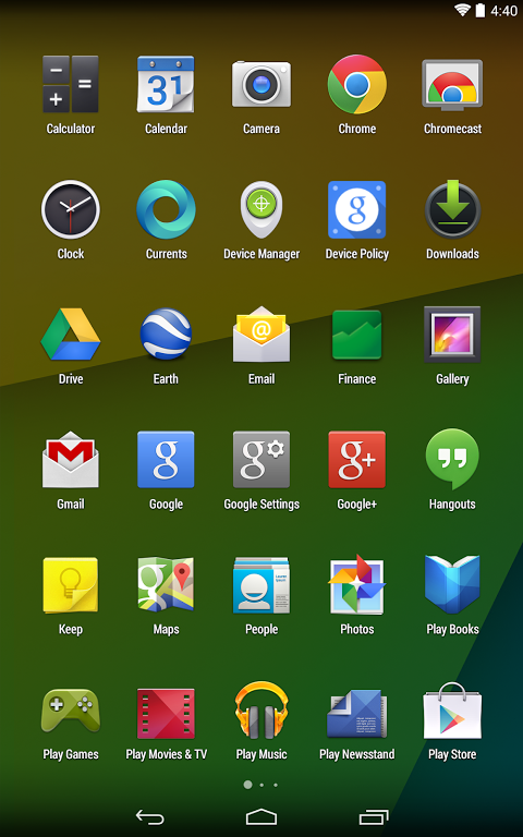 Google Now Launcher 1.4.large Screen 9