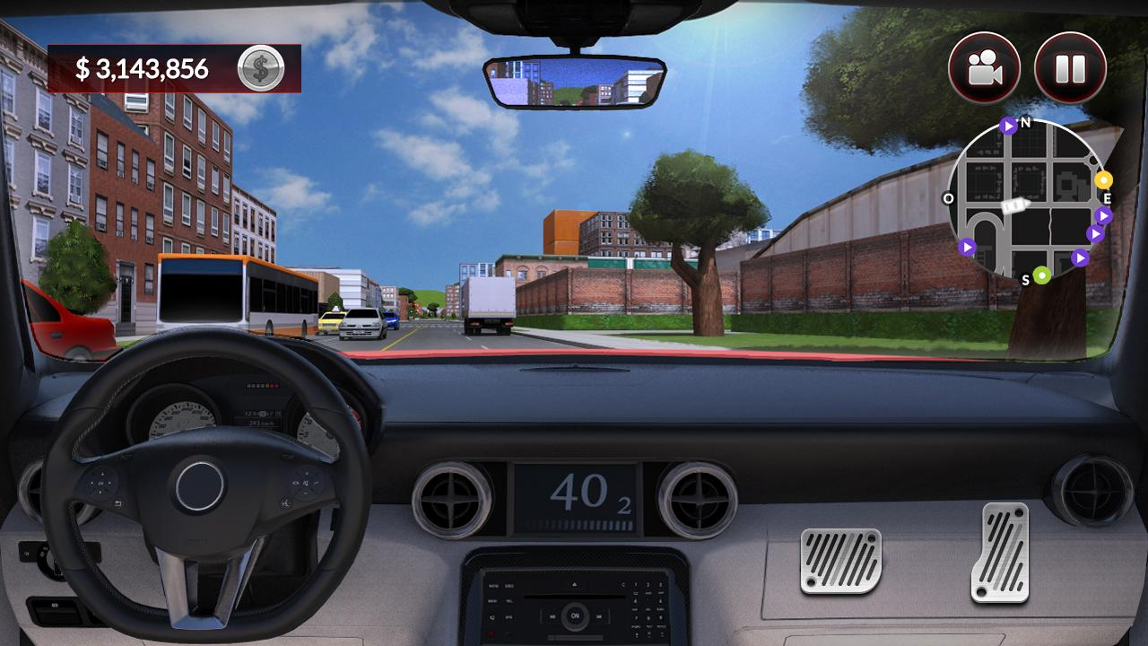 Android Drive for Speed: Simulator Screen 2