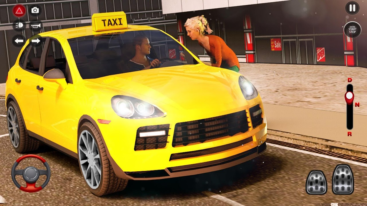 Android New York Taxi Driving Sim 3D Screen 1