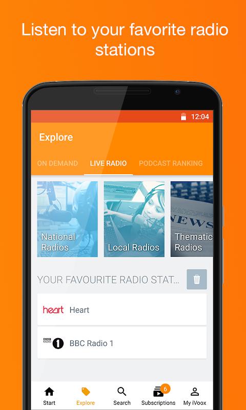 Podcast & Radio iVoox 2.221 Screen 2