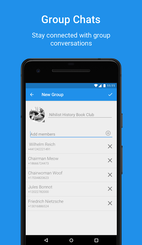 Android Signal Private Messenger Screen 4