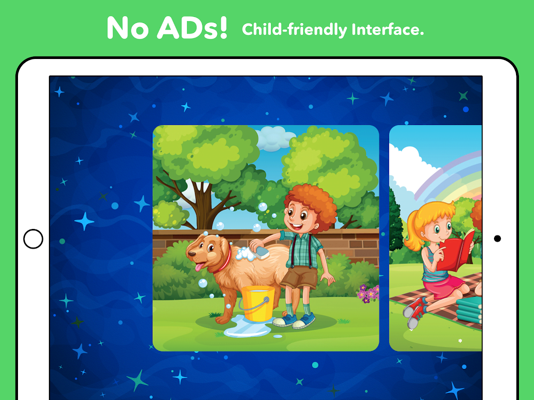 Android Kids Puzzles - Kids games 1, 2, 3, 4, 5 years old Screen 6