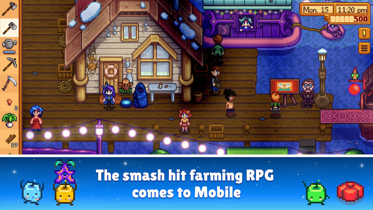 Stardew Valley 1.18 Screen 9