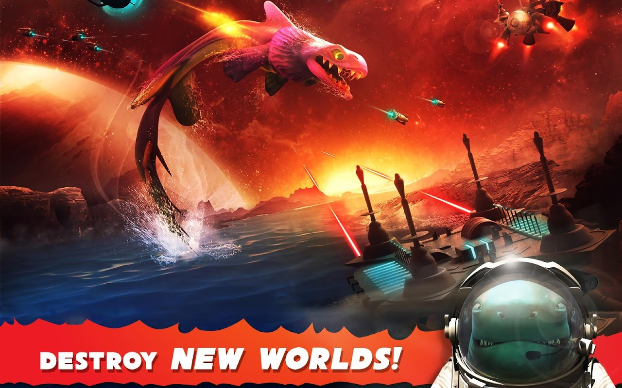 Android Hungry Shark Evolution (Mod) Screen 15