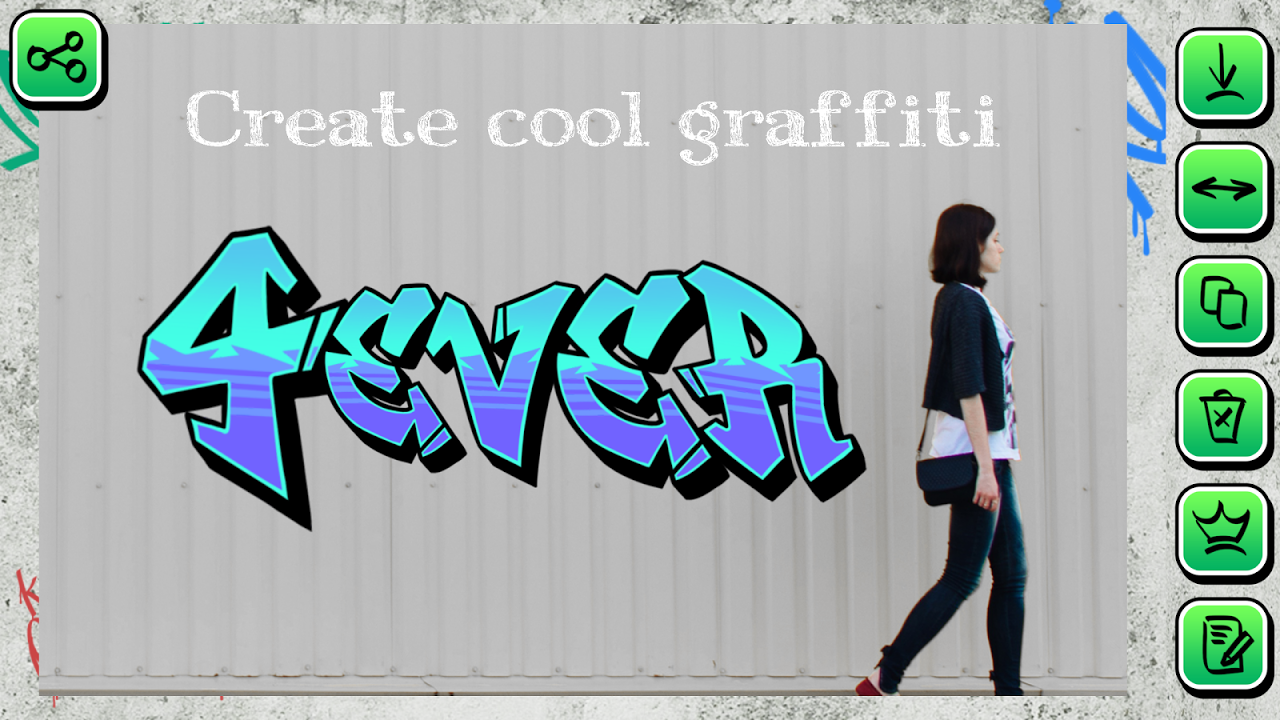 Graffiti Creator on Pictures 1.2 Screen 2