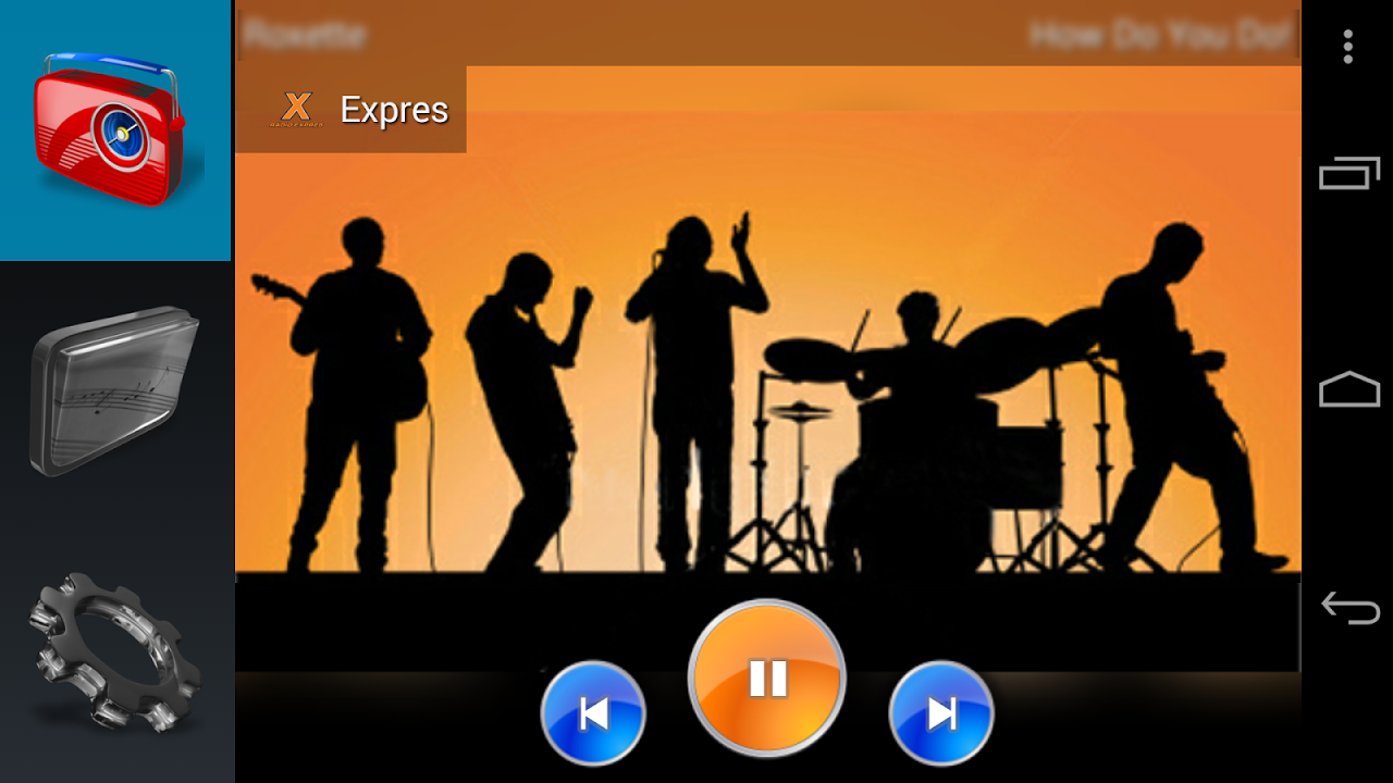 Android Kitchen Radio (Music player) Screen 7