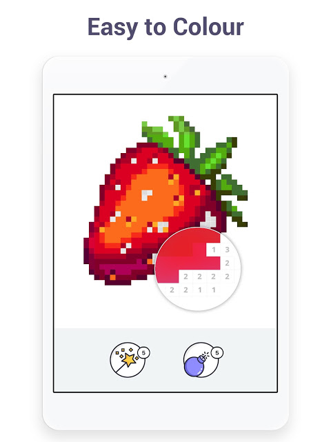 Pixel Art - Colour by Number Book 2.1.2 Screen 8