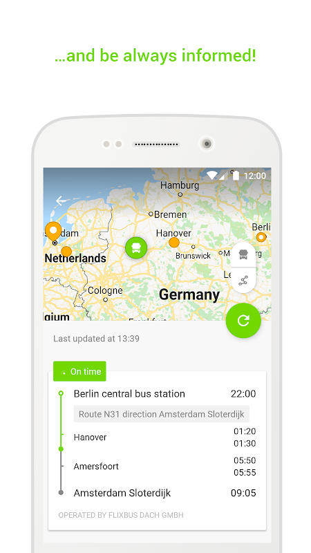 FlixBus - Bus Travel in Europe 5.9.1 Screen 6