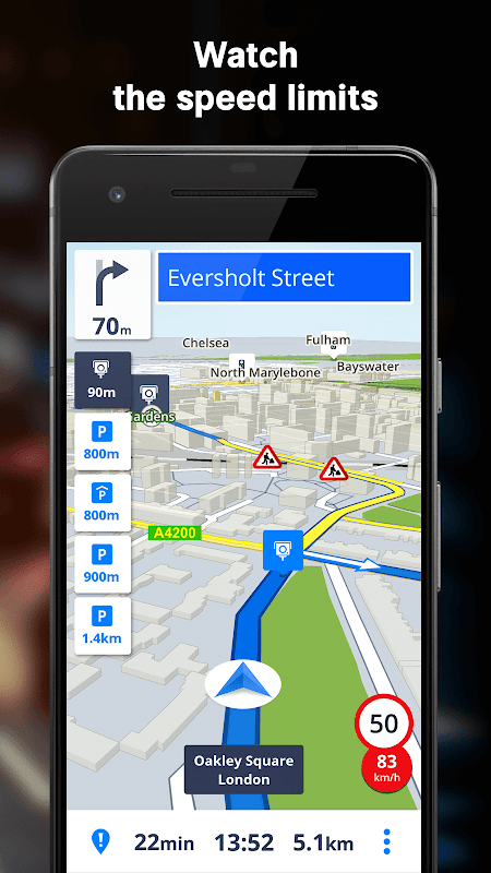 GPS Navigation & Maps Sygic 18.4.2 Screen 10