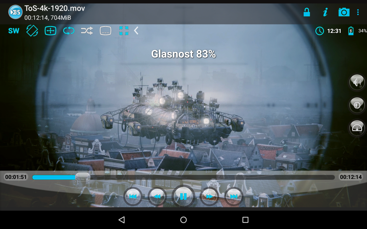Android BSPlayer Screen 8