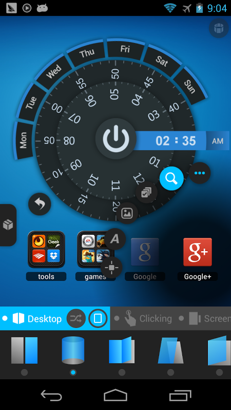 Android TSF Launcher 3D Shell Screen 6
