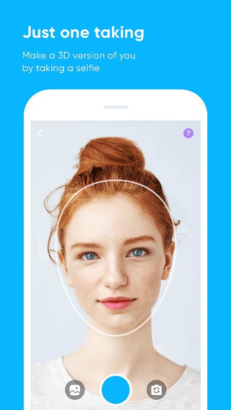 Android ZEPETO Screen 1