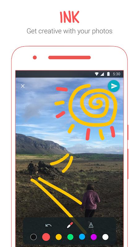 Android Google Allo Screen 1
