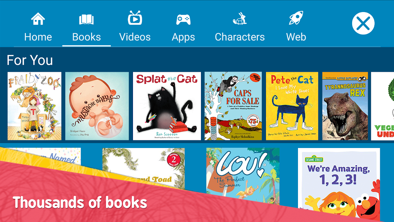 Amazon FreeTime – Kids' Videos, Books, & TV shows FreeTimeApp-fireos_v3.14_Build-1.0.203601.0.11091 Screen 1