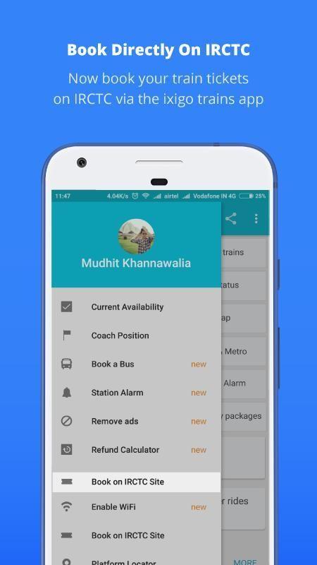 Indian Rail Train PNR Status 4 1 2 APK Download by ixigo com