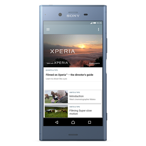 Android Xperia Lounge (entertainment) Screen 3